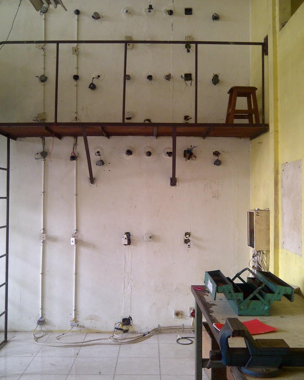 Hasil Instalasi Rumah Bertingkat