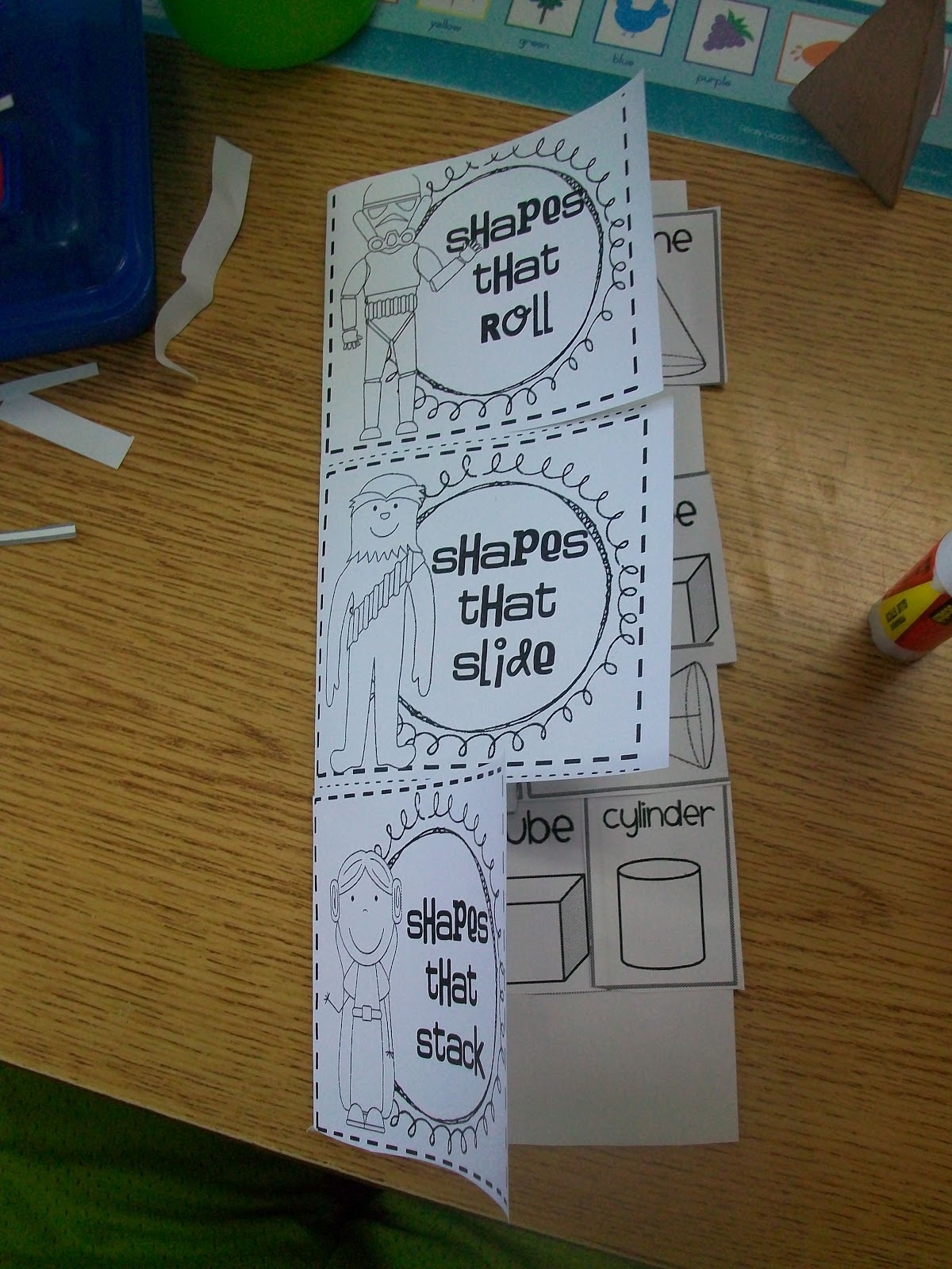 Sarah S First Grade Snippets Comparing Stories Geometry