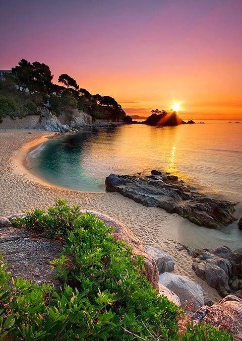Praia Platja D'Aro próxima a Barcelona | Espanha