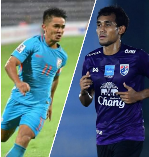 India VS Thailand live streaming AFC cup