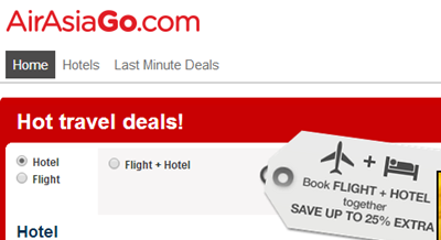 CPUV Nuffnang: Air Asia Go - Korea Sale