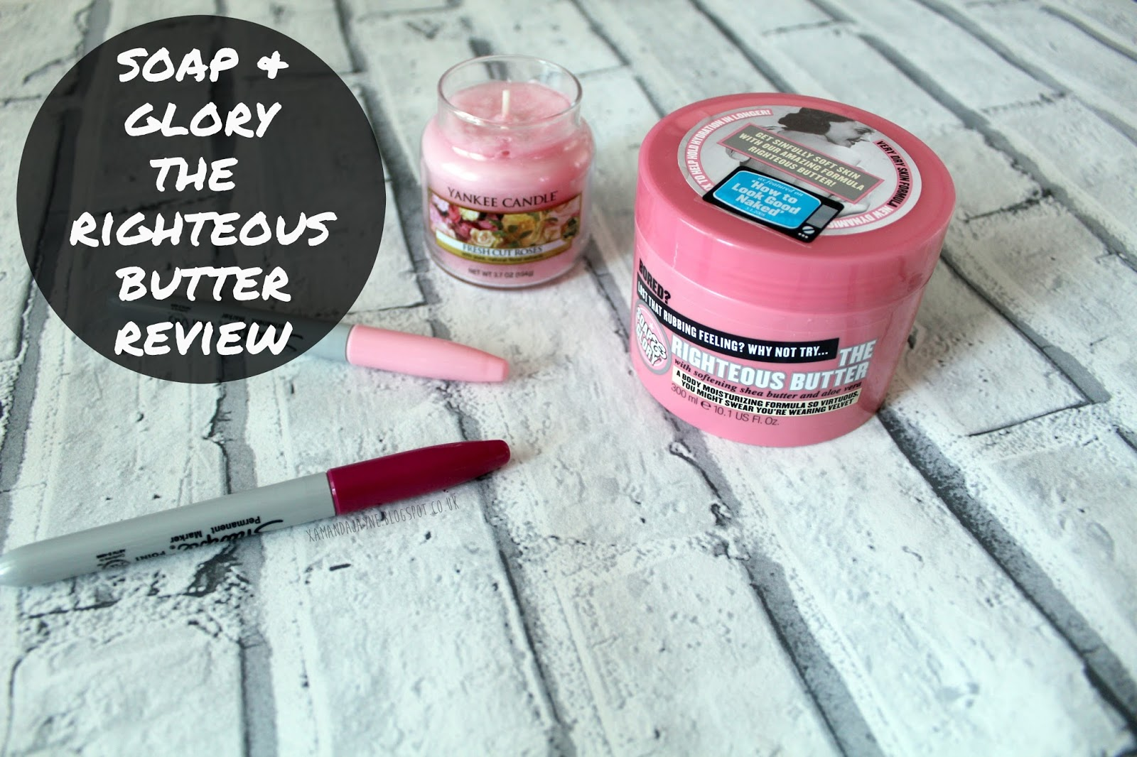 soap and glory the righteous butter review