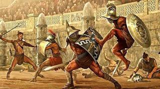 tecniche di combattimento dei gladiatori romani