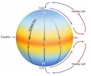 sirkulasi atmosfer sel tunggal