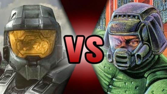 http://nerduai.blogspot.com.br/2013/09/death-battle-master-chief-vs-doomguy.html