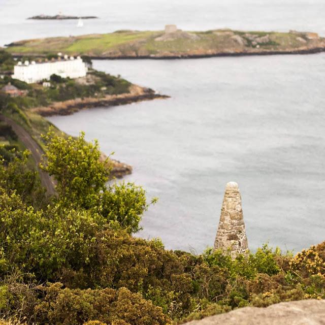 Walk to Killiney Hill for views of the Irish Sea along the South Dublin Coast