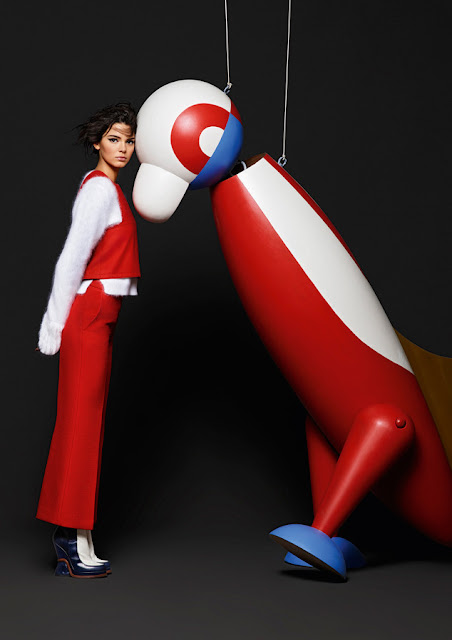 Kendall Jenner Is the Star of FENDI's FW15 Campaign!