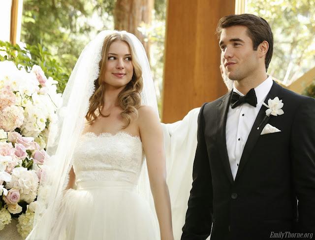 vestido de noiva Emily Thorne - Revenge