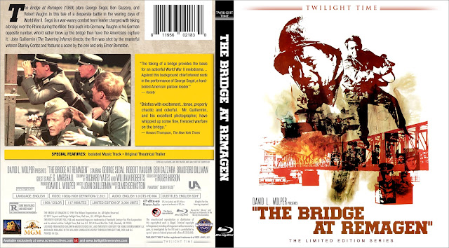 The Bridge At Remagen Bluray Cover