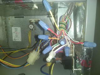 wiring by McGowan's Heating & Air