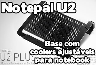 suporte com cooler notepal u2