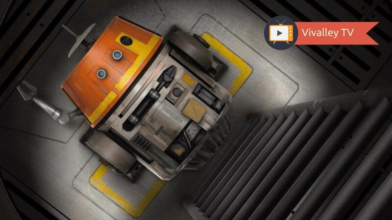 Star Wars Rebels, La Máquina en el Fantasma.