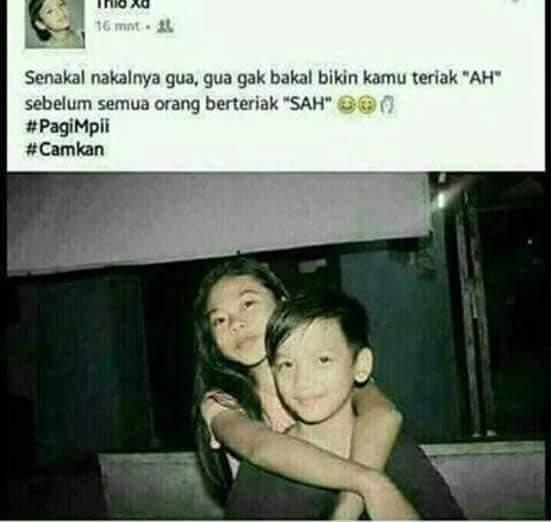 8 Gambar Lucu Kids Jaman Now Kocak Postingan SosMed Anak SD ...