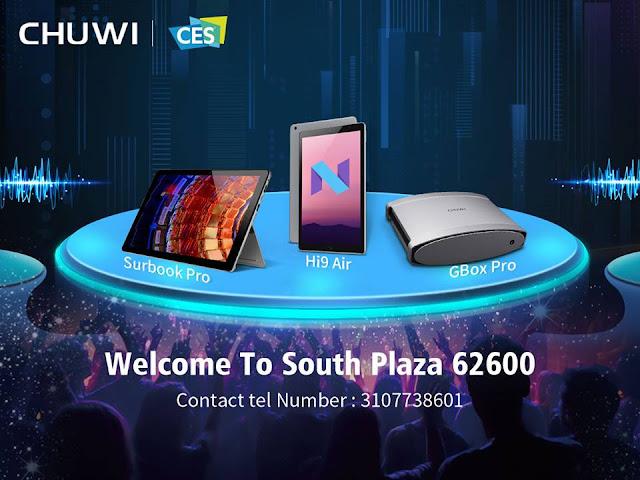 【CHUWI】Core-M搭載のCoreBookに高性能AndroidのHi9、そしてAMD Vega搭載の噂のあるミニPCも登場のCHUWI!