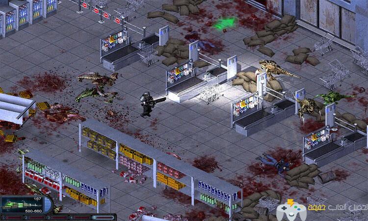 تحميل لعبة الين شوتر Alien Shooter