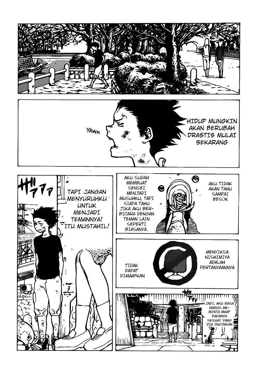 Koe no Katachi Chapter 03-20