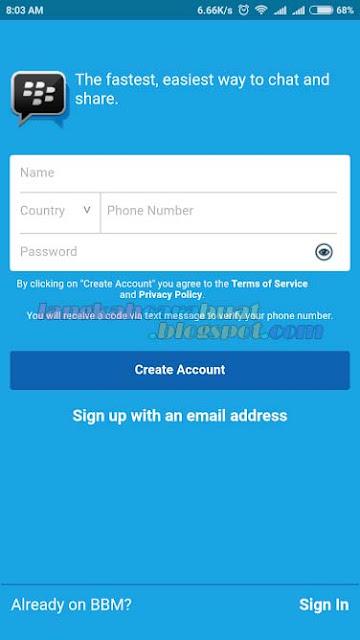 Cara Menghapus Akun BBM ID Secara Permanen di Android