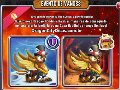Dragão Vanoss Hoodini - Informações