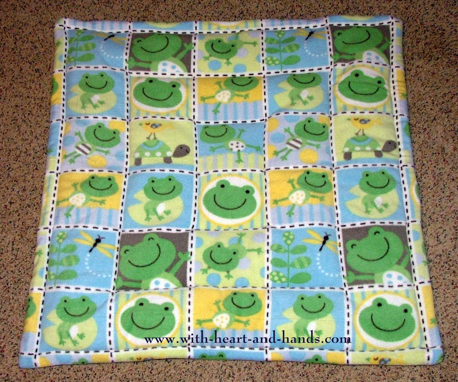 Make A Fleece Baby Play Paduse Alone Or Under Little Gym For Floor With