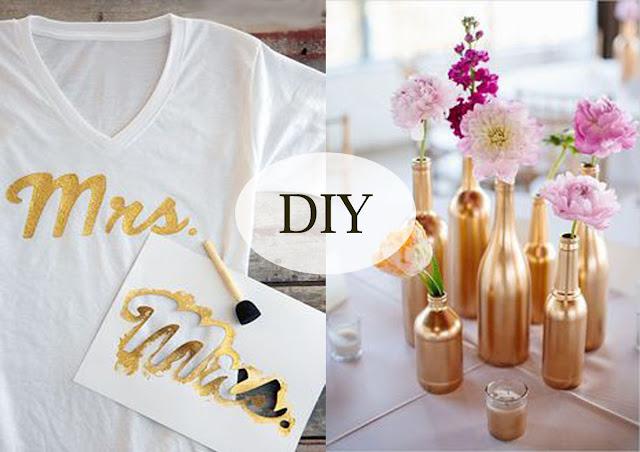 DIY trička a vázy