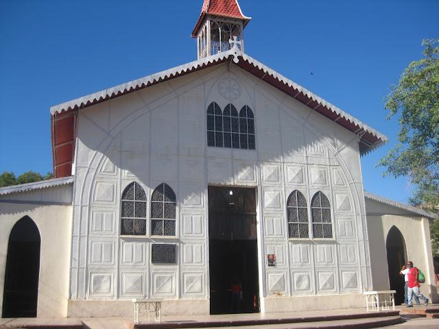 Santa Barbara church, Gustave Eiffel, Santa Rosalia, Baja California Sur