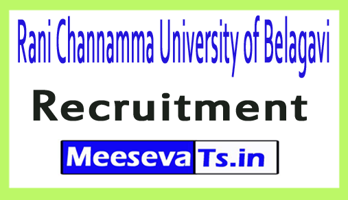Rani Channamma University of Belagavi RCUB Recruitment