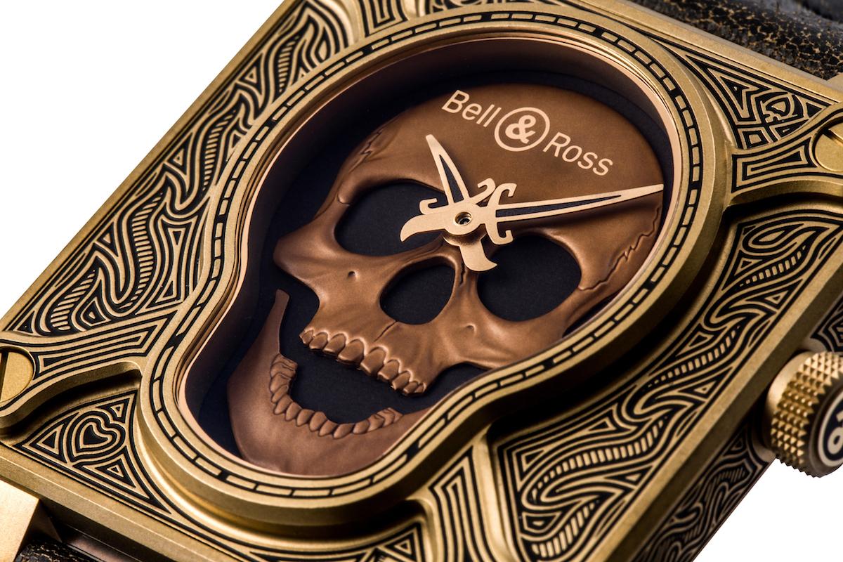 Bell & Ross BR01 Burning Skull Bronze Limited Edition