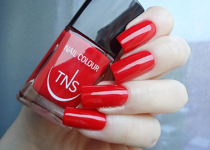 TNS Cosmetics: Rosso Dania: swatches e recensione