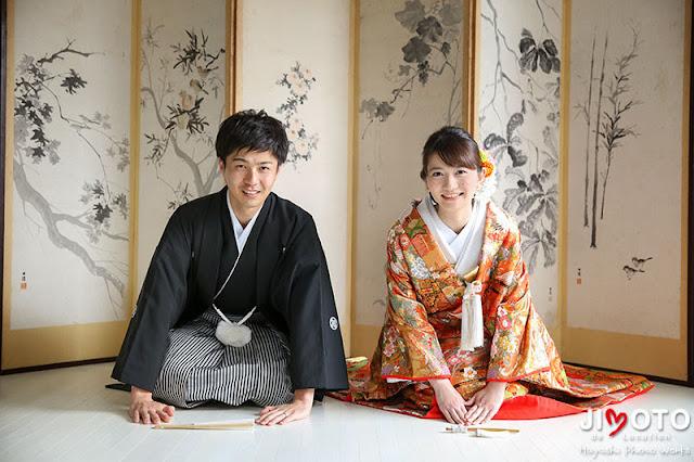 奈良前撮り正座