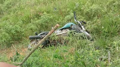 Homem morre após sofrer grave acidente de moto em Mundo Novo