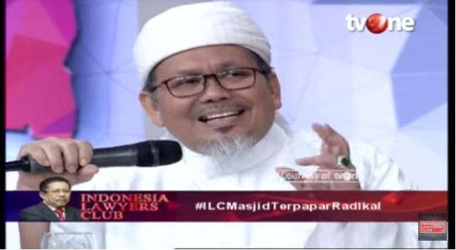 """MAKJLEB! Ustadz Tengku Zulkarnain """"KULITI"""" Tuduhan Radikal Umat Islam di ILC tvOne"""
