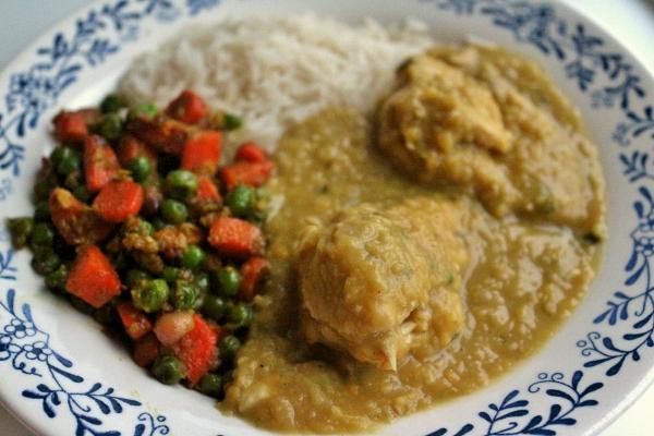 Mission: Food: Murghi aur Masoor Dal (Bombay-style Chicken