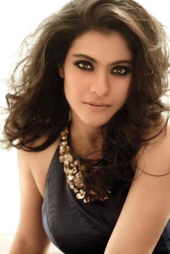 Kajol Devgan Hot Looking Face Closeup Photos