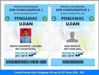 contoh format kartu pengawas ujian UN US SD Tahun 2016-2017.jpg