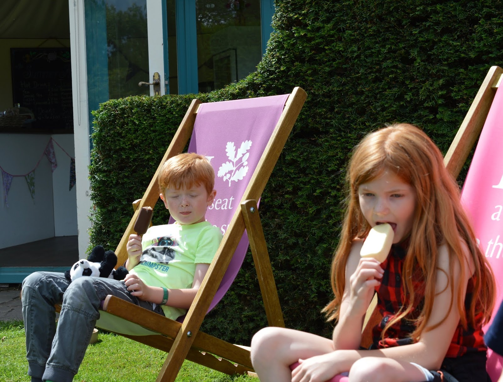 10 Reasons to Visit Seaton Delaval Hall  - ice cream hut