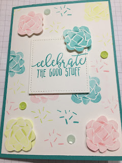 Picture Perfect Birthday stamps Stampin' Up!