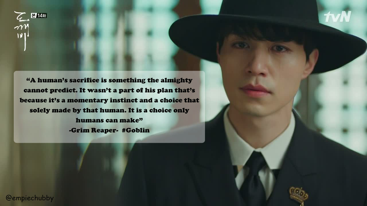 Korean Drama Quotes : Goblin Dokkaebi ~ empiechubby.com