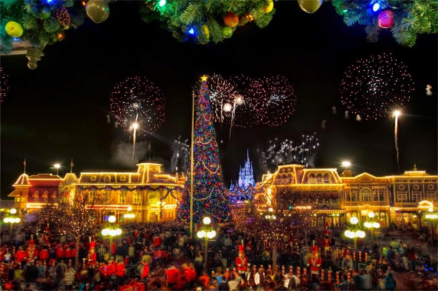 Happy New Year Eve 2016 Fireworks Orlando Florida USA 3D