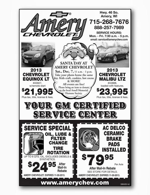 Official Amery Chevrolet Dealership Blog