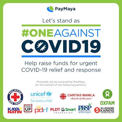 #OneAgainstCOVID19 PayMaya drive