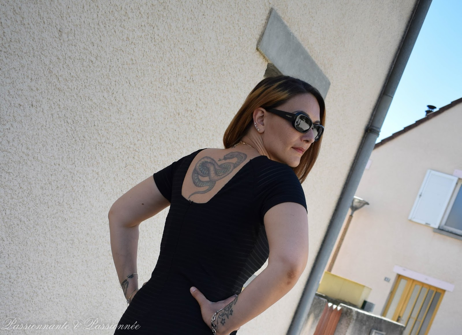 blogueuse ronde robe moulante