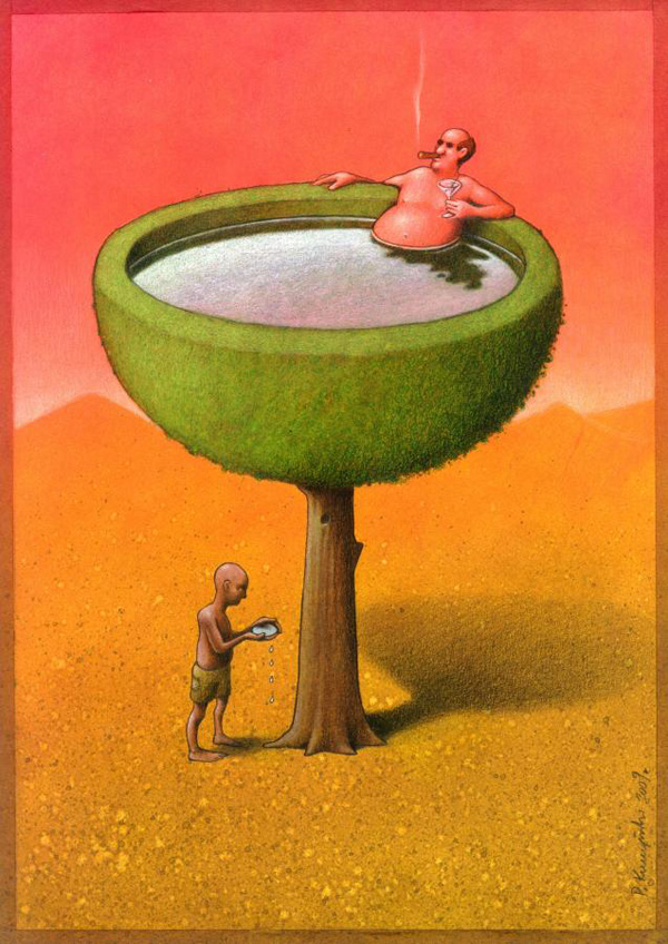 35 Artistic Illustrations Prove How Meaningless Modern Society Can Be