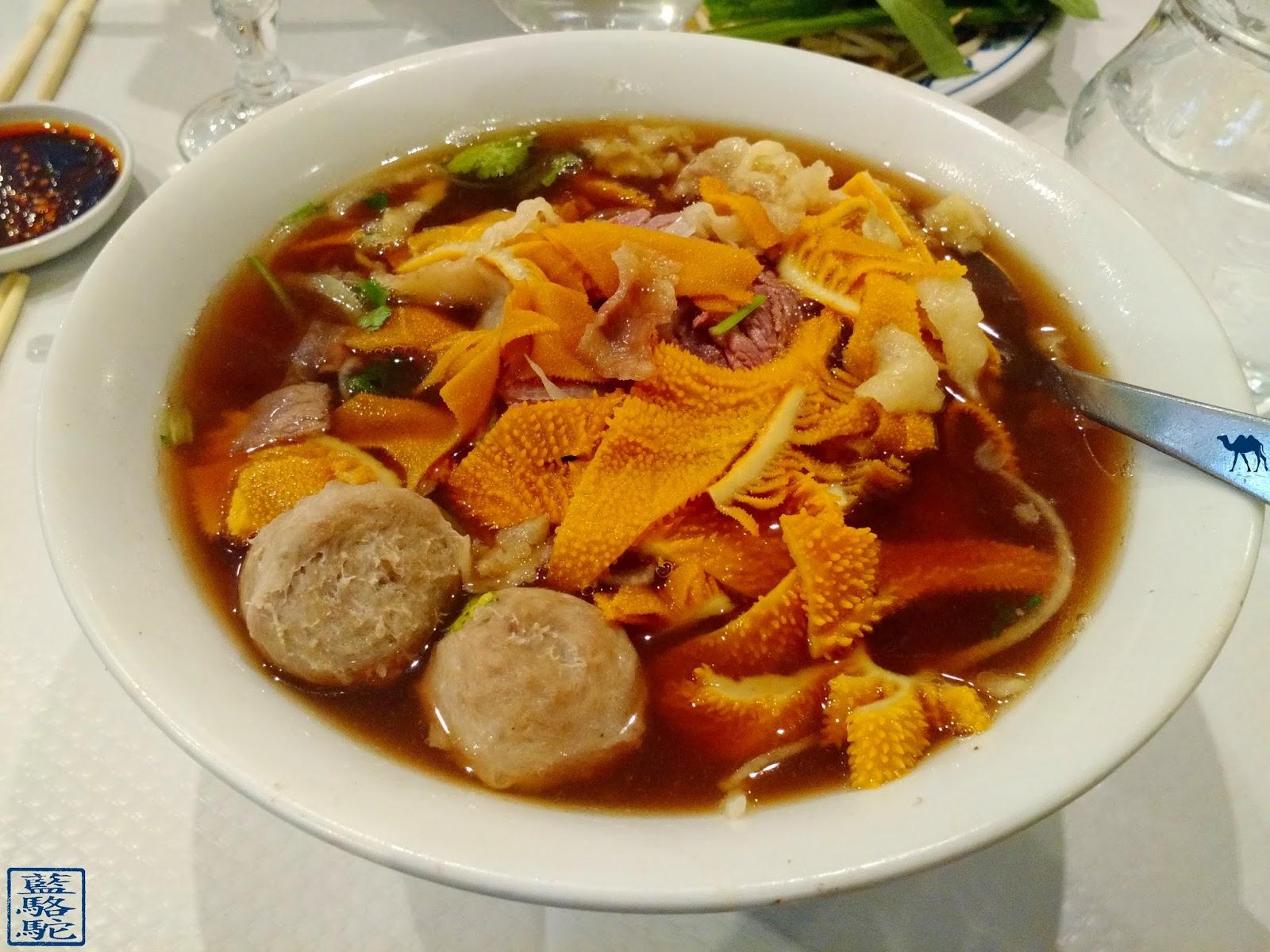 Le Chameau Bleu - Blog Gastronomie et Voyage -Pho - Soupe Vietnamienne au restaurant le Bambou Paris