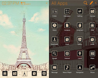 paris theme android