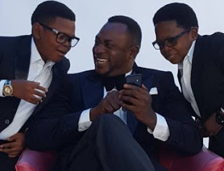 Nice Photos of Odunlade Adekola with Aki and Paw Paw