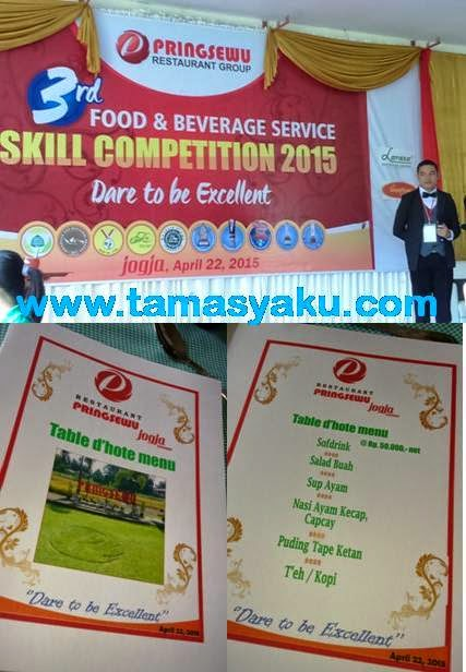 Food Beverage Service Skill Competition