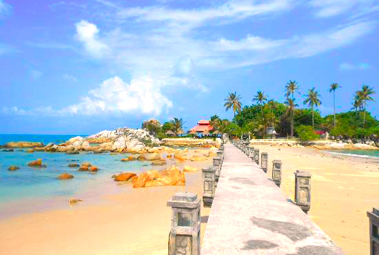 Gambar Pantai Parai Tenggiri Di Bangka Belitung