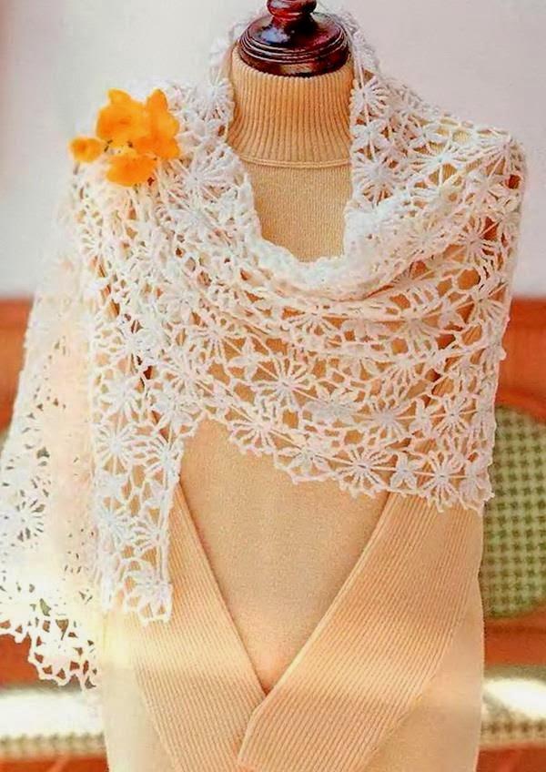 Crochet Shawls: Crochet Shawl Wrap - Gorgeous Crochet Lace
