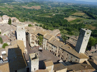 Vistas de San Gimignano desde la Torre Municipal o Rognosa.