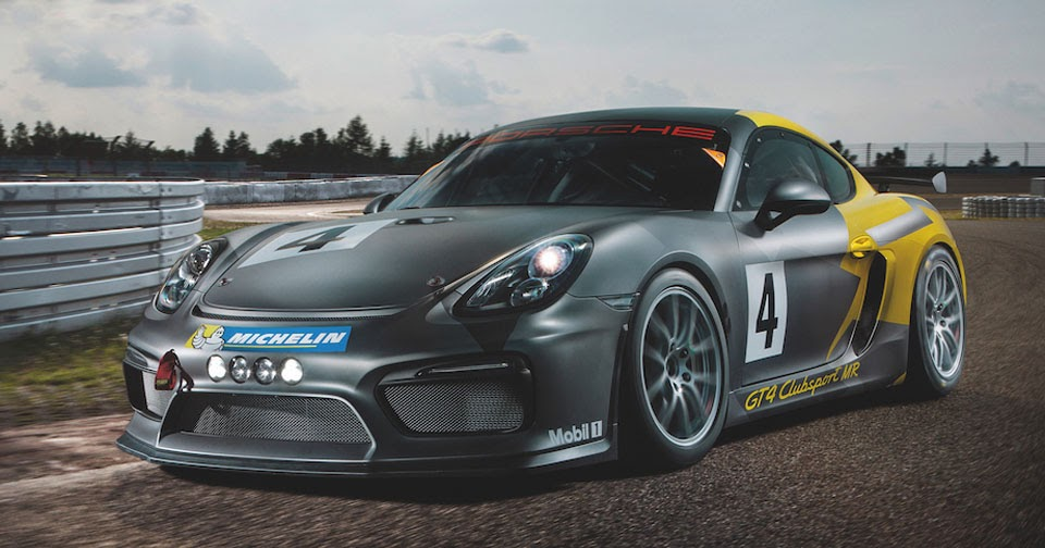 Manthey racing upgrades porsche cayman clubsport to gt4 for Bp motor club reviews